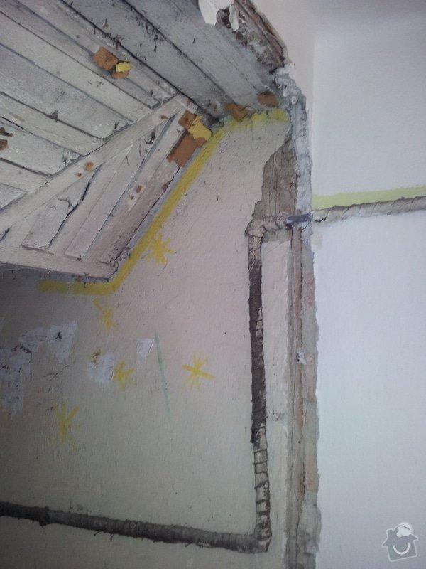 Přestavba komory na koupelnu pro hosty: foto2