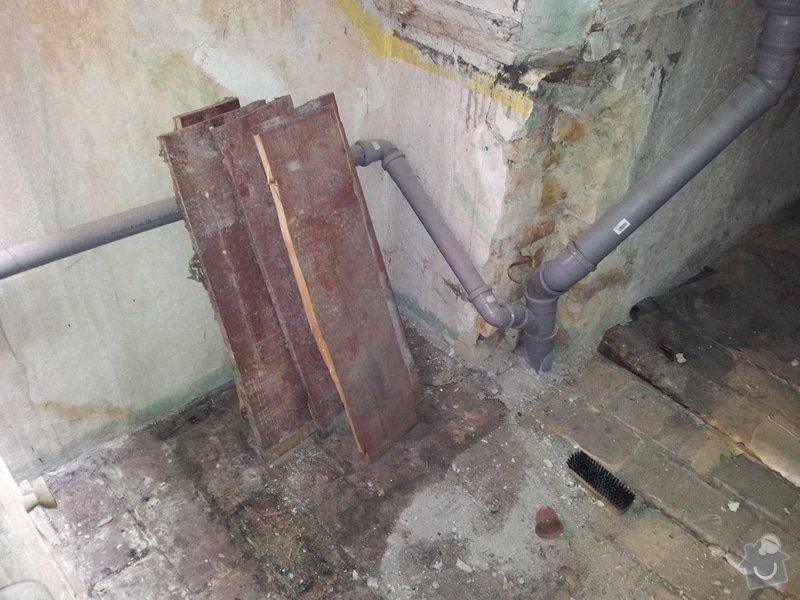 Přestavba komory na koupelnu pro hosty: foto4