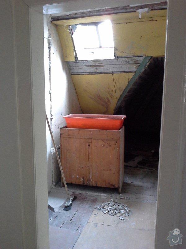Přestavba komory na koupelnu pro hosty: foto5