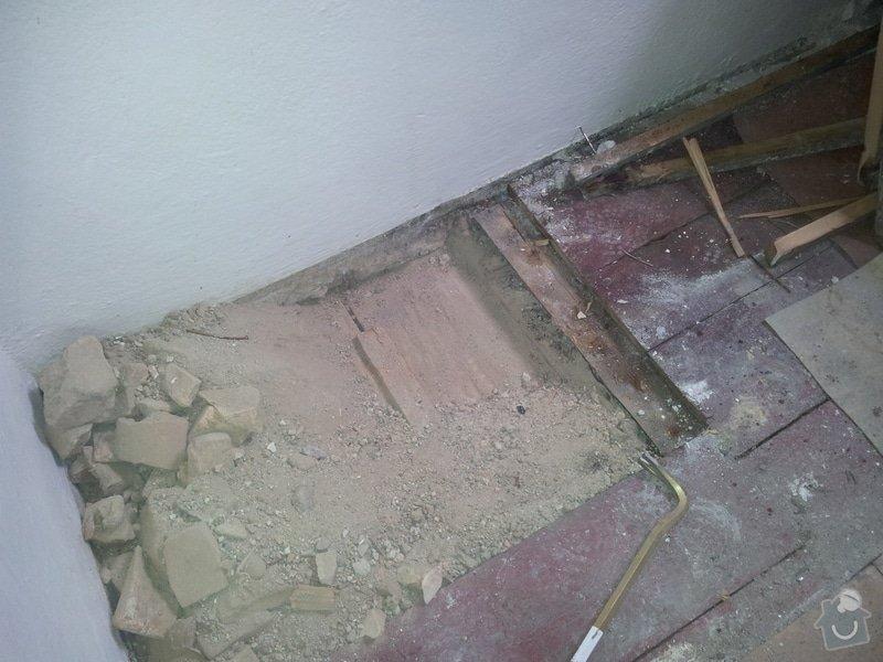 Přestavba komory na koupelnu pro hosty: foto7
