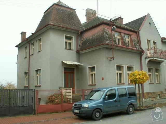 Prvorepubliková vila - oprava střechy (eternit - několik poškozených míst): PICT0004
