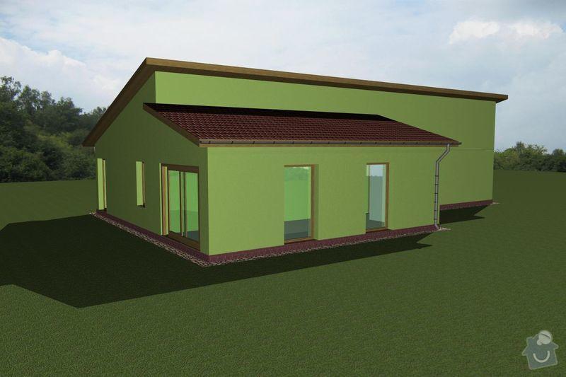 Rámovou konstrukci dřevostavby: RD_Vaclav_01