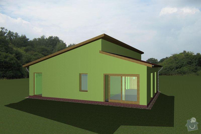 Rámovou konstrukci dřevostavby: RD_Vaclav_02