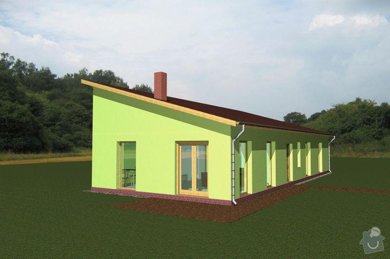 Rámovou konstrukci dřevostavby: RD_Vaclav_04