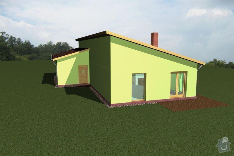 Rámovou konstrukci dřevostavby: RD_Vaclav_05