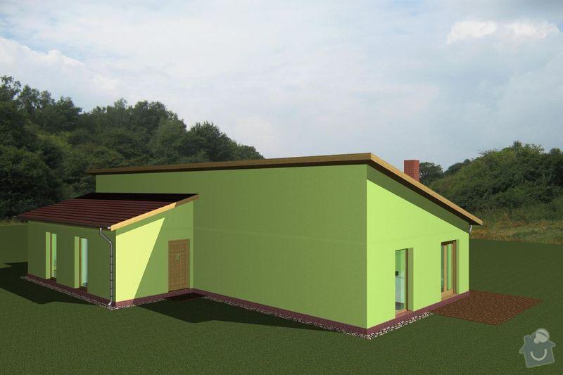 Rámovou konstrukci dřevostavby: RD_Vaclav_06