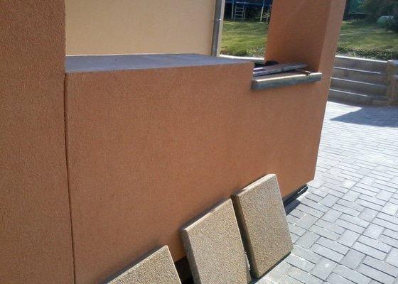Kontaktní zateplovací systém,Pochozí a pojezdové plochy ze zámkové dlažby