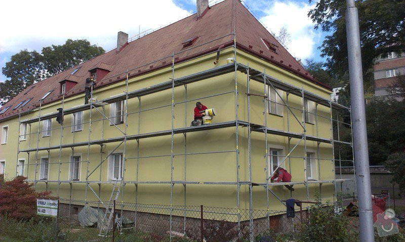 Zateplení bytového domu: IMAG0348
