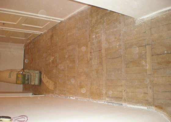 Pokládka laminátové podlahy 10 m2