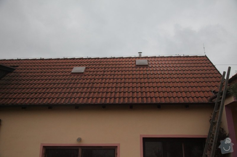 Montáž oken Velux 2x: 0010