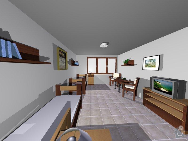 Výroba nábytku z LTD: pokojik1