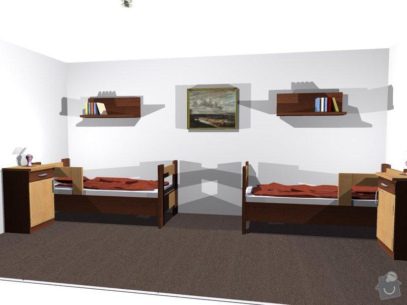 Výroba nábytku z LTD: pokojik2