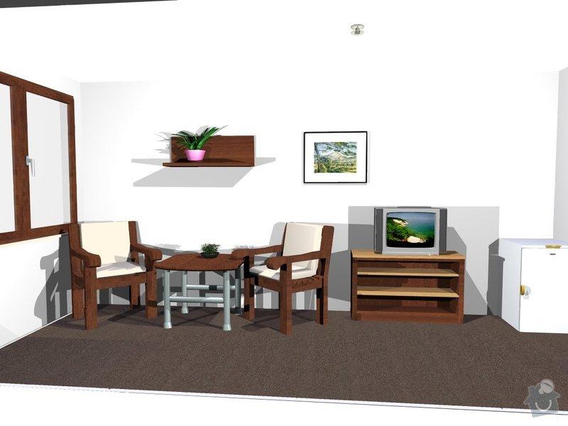 Výroba nábytku z LTD: pokojik3