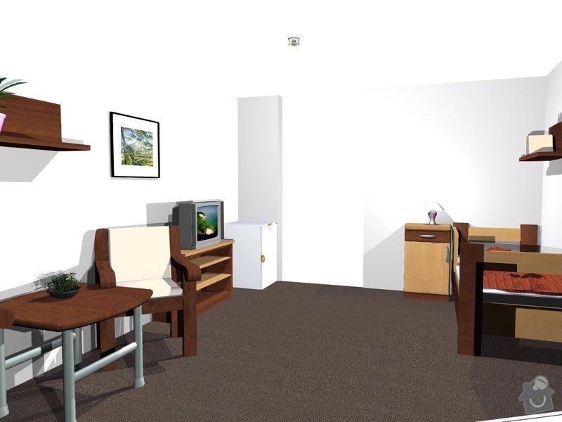 Výroba nábytku z LTD: pokojik4