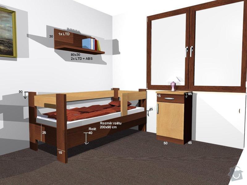 Výroba nábytku z LTD: pokojik5