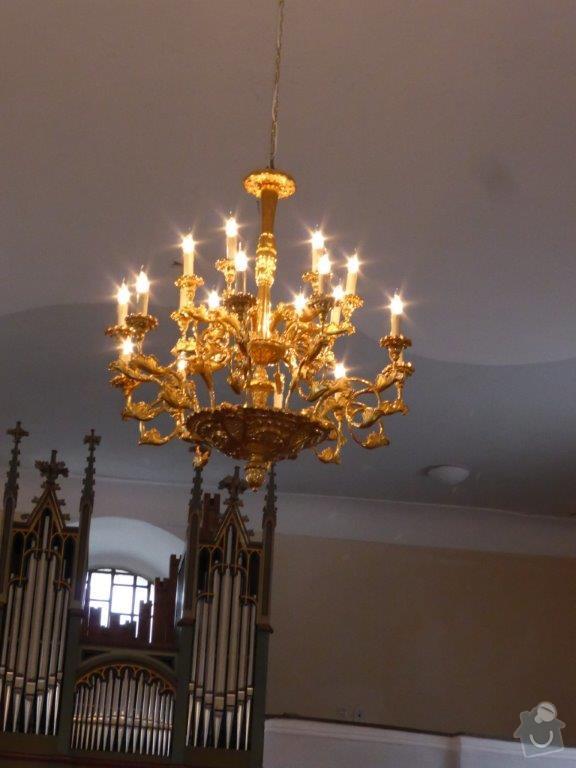 Elektrifikace barokního lustru: P1010673