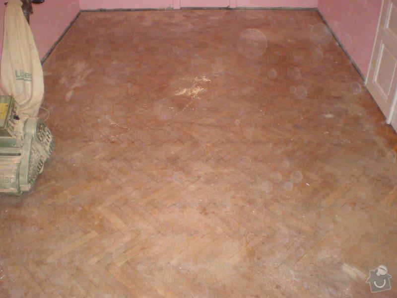 Renovace drevenych parket ca 25 m2 + polozeni plovouci podlahy 12m2 : Snimek_3790