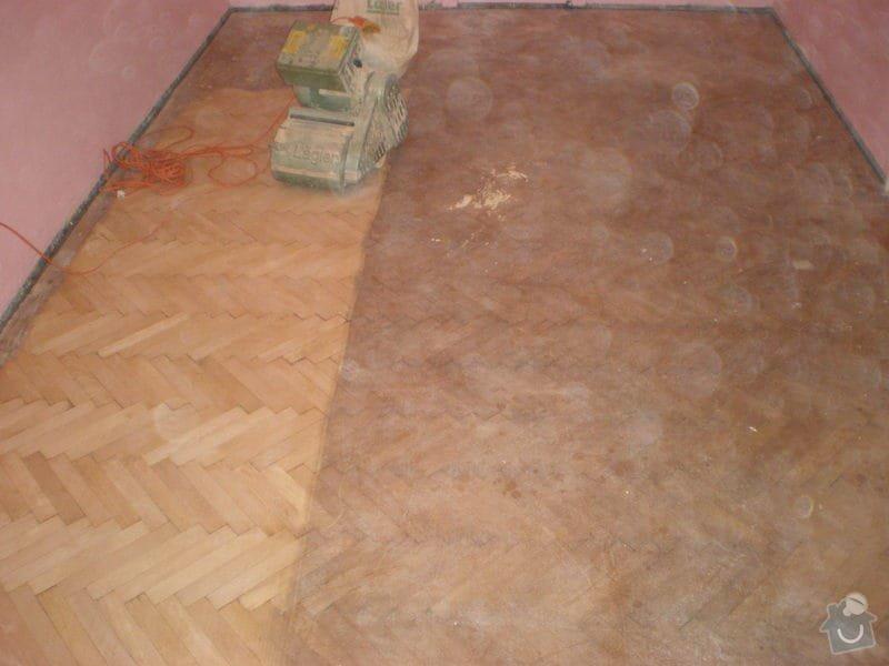 Renovace drevenych parket ca 25 m2 + polozeni plovouci podlahy 12m2 : Snimek_3791