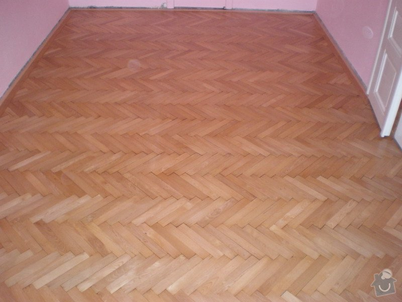 Renovace drevenych parket ca 25 m2 + polozeni plovouci podlahy 12m2 : Snimek_3847