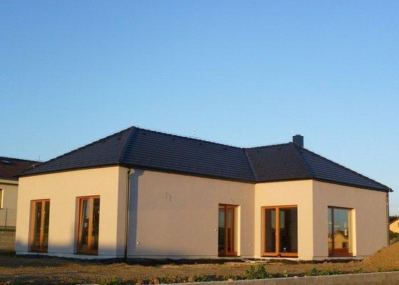 Zateplení a povrchová úprava fasády rodinného domu