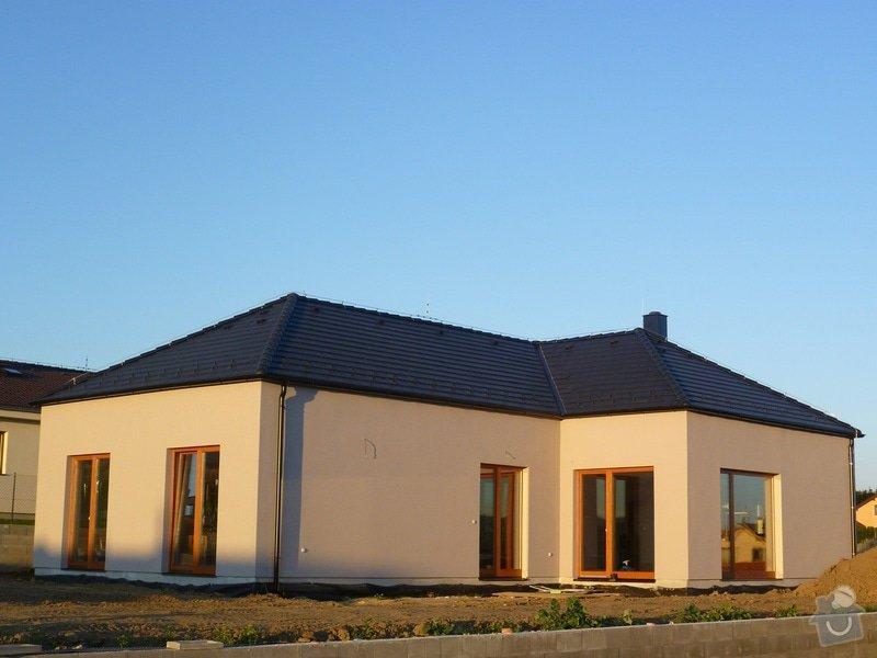 Zateplení a povrchová úprava fasády rodinného domu: RD