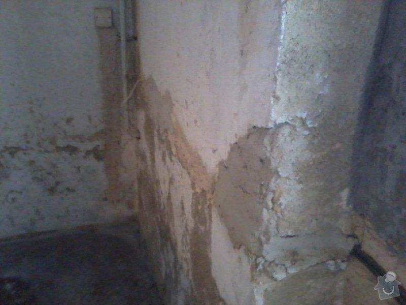 Malířské a zednické práce (3 místnosti) : Nahozeni_rohu_-_priprava
