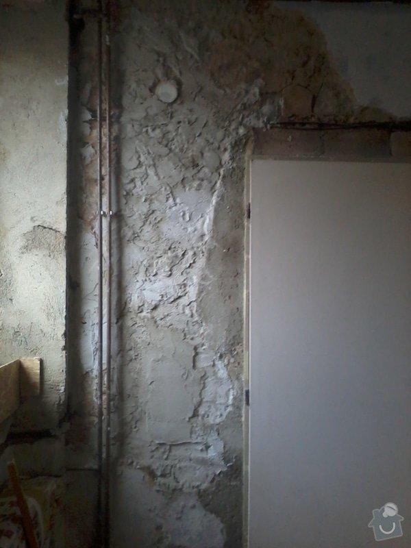 Malířské a zednické práce (3 místnosti) : Nahozeni_zdi_-_druhe_dvere