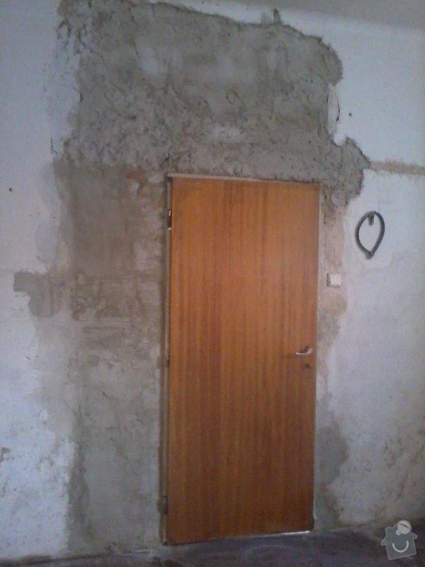 Malířské a zednické práce (3 místnosti) : Nahozeni_zdi