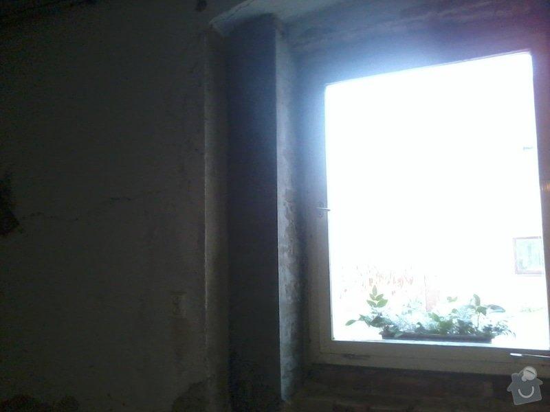 Malířské a zednické práce (3 místnosti) : Natazeni_lepidla_a_perlinky_-_druhy_roh