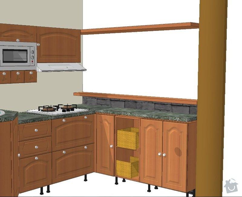 Kuchyňská linka: 2