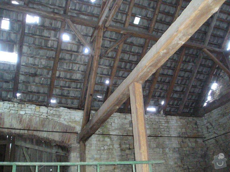 Demolice stodoly: stodola