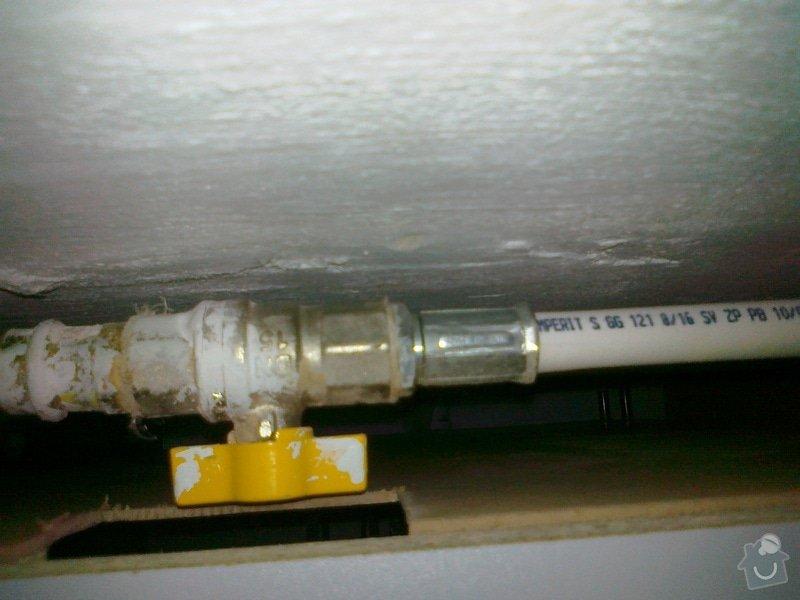 Výměna plynové připojovací hadice: 24112013598