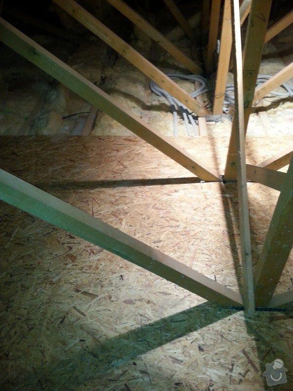 OSB podlaha,SDK příčka,úprava elektro: 20131111_155533