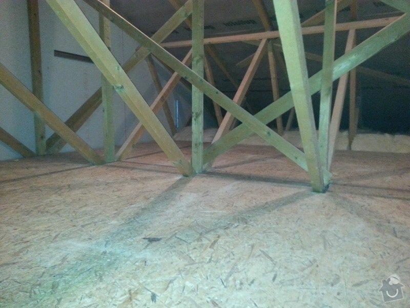 OSB podlaha,SDK příčka,úprava elektro: 20131115_174017