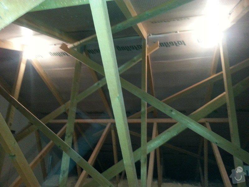 OSB podlaha,SDK příčka,úprava elektro: 20131115_174026