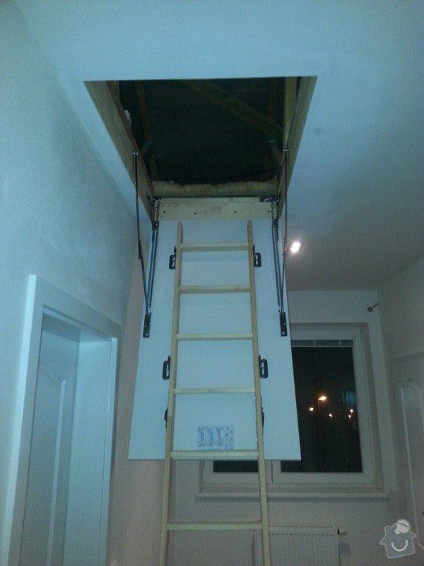 OSB podlaha,SDK příčka,úprava elektro: 20131115_174042