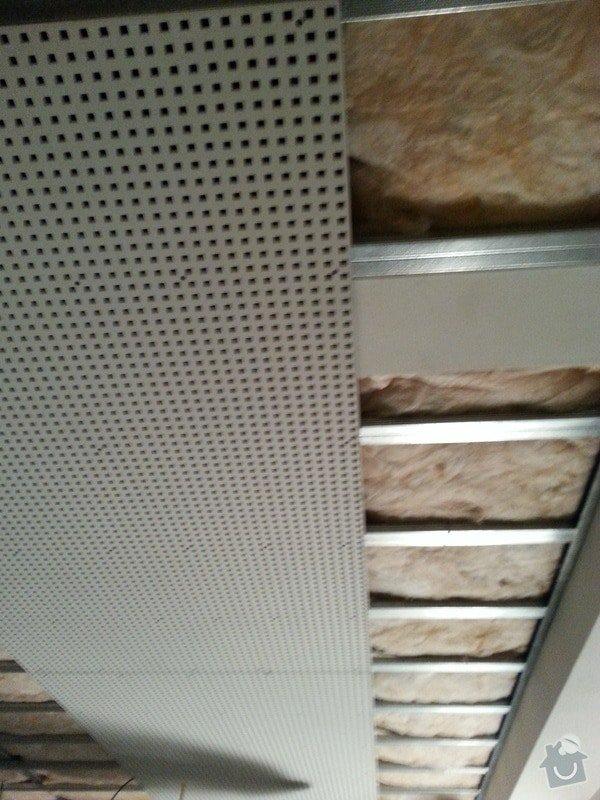 Montáž sádrokartonového podhledu, ca 30 m2: 20131125_143555