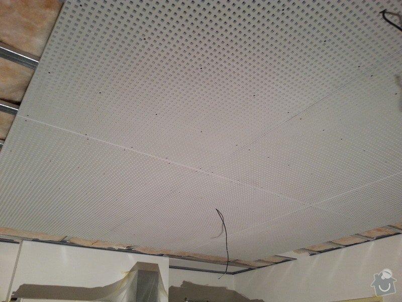 Montáž sádrokartonového podhledu, ca 30 m2: 20131125_152929