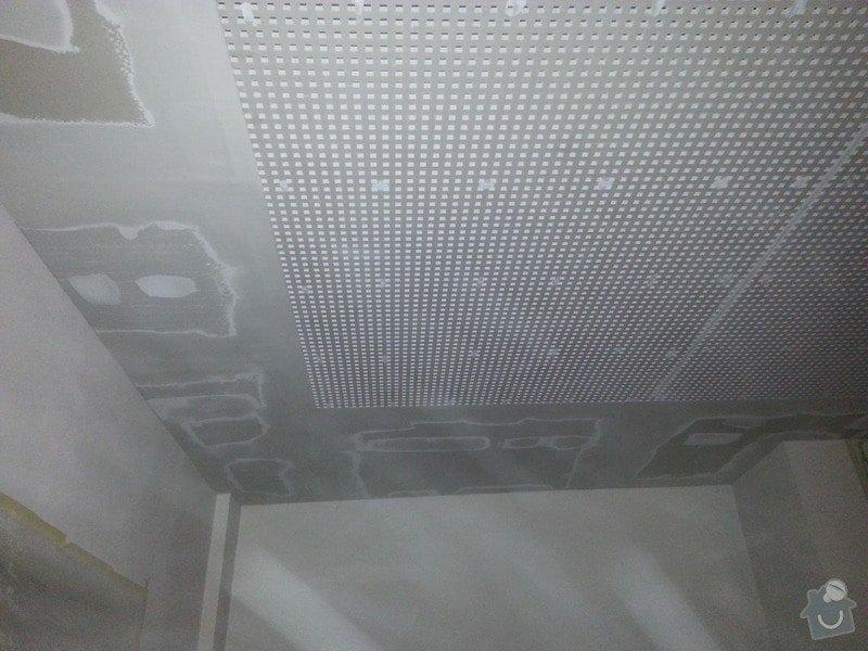 Montáž sádrokartonového podhledu, ca 30 m2: 20131126_152338