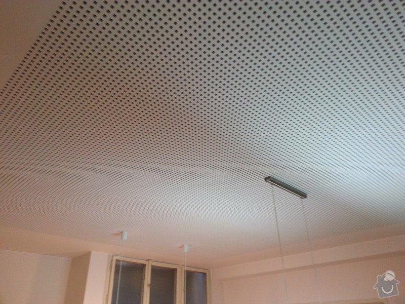Montáž sádrokartonového podhledu, ca 30 m2: 20131127_142855
