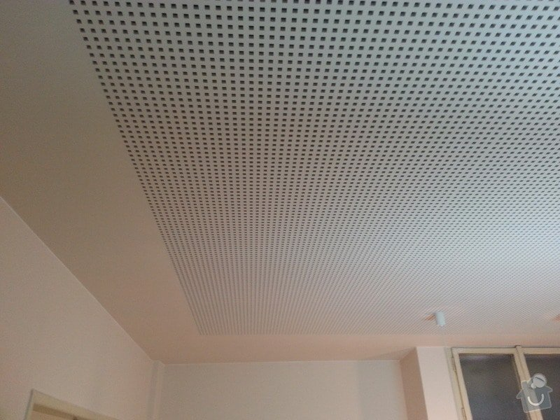 Montáž sádrokartonového podhledu, ca 30 m2: 20131127_142921