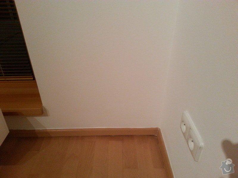 Malirske prace byt 125m2, oprava drevene plovouci podlahy a  zakryti odtahu digestore sadrokartonovym kastlikem: 20131122_170054