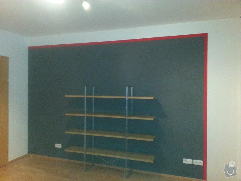 Malirske prace byt 125m2, oprava drevene plovouci podlahy a  zakryti odtahu digestore sadrokartonovym kastlikem: 20131121_145529