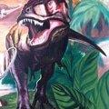 Malba v detskem pokoji dinosauri img 2975