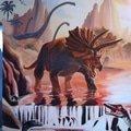 Malba v detskem pokoji dinosauri img 2979