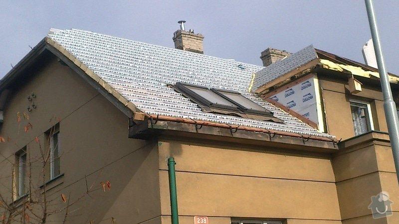 Zhotovení střechy: 2013-11-01-399