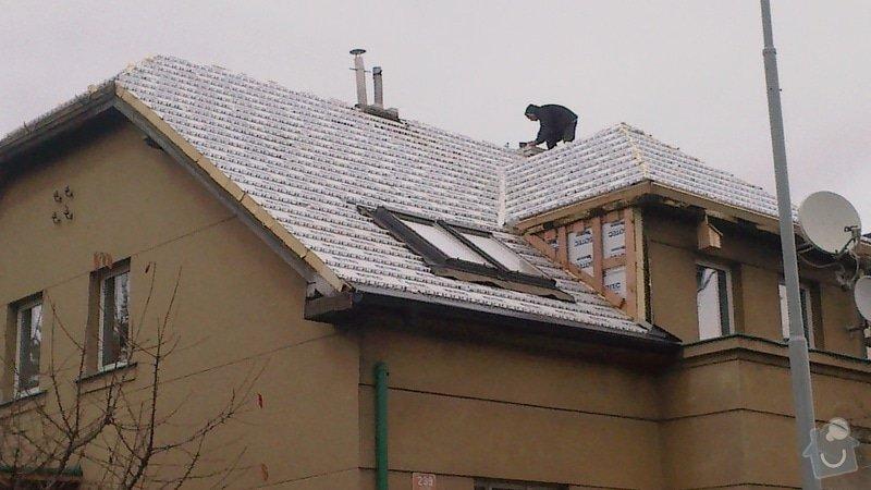 Zhotovení střechy: 2013-11-05-403