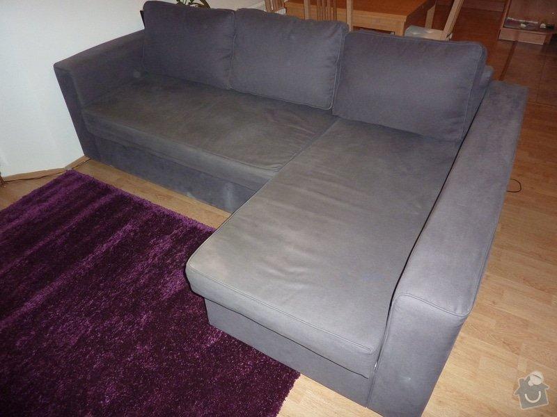 Vycisteni sedacky Ikea Manstad: P1160801