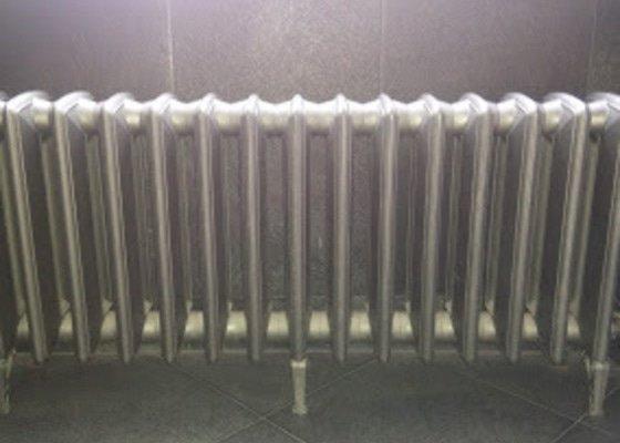 Úprava topného systému-výměna radiatorů