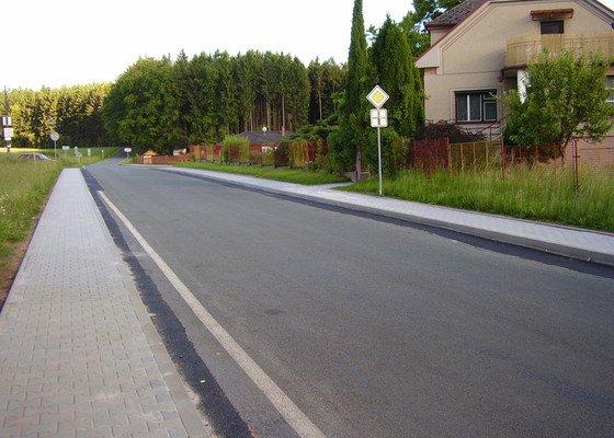 Chodníky obec Zábrodí
